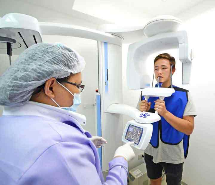 3D CT Scan and Dental Diagnostics, Digital Panoramic X-rays Machine